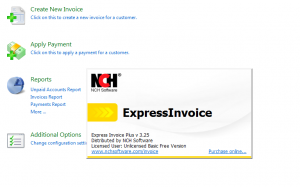 Express Invoice Free Basic Version