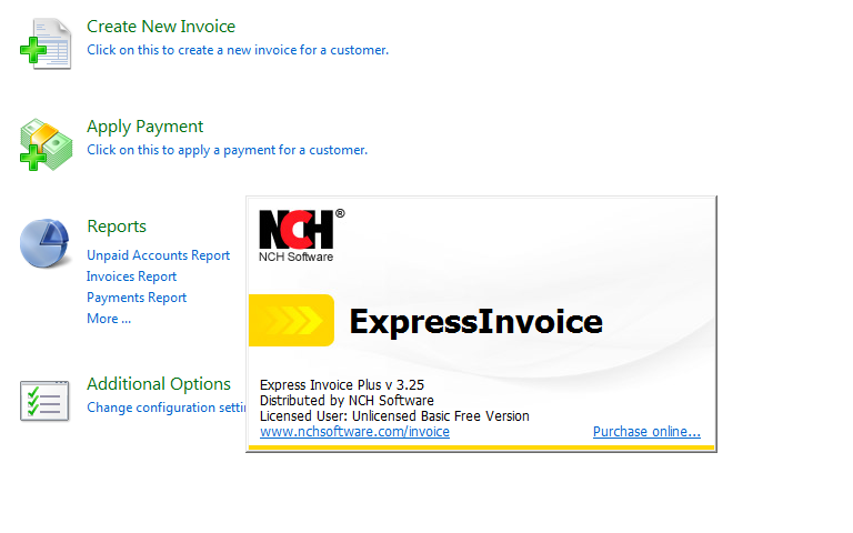 Express Invoice Free Basic Version A Light And Free Invoicing - Express invoice free